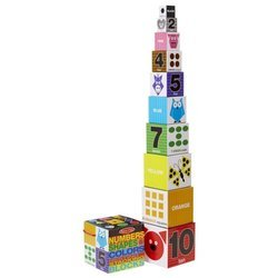Кубики Melissa & Doug Numbers, Shapes, Colors