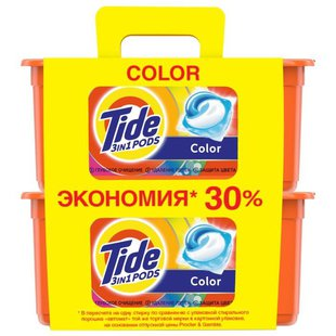 Капсулы Tide 3 in 1 Pods Color