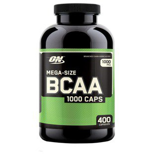 BCAA Optimum Nutrition BCAA 1000 (400 капсул)