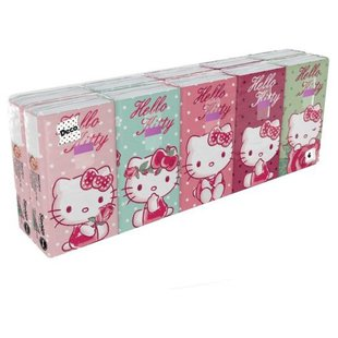 Платочки World Cart Hello Kitty 21 х 21