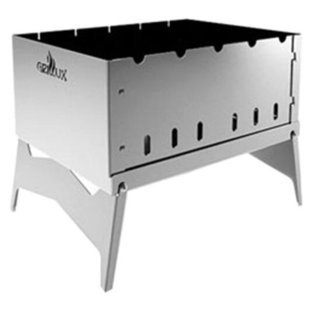 Мангал Grillux Optimus Stainless, 39х25,4х27 см