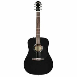 Вестерн-гитара Fender CD-60 Dreadnought V3 DS Black